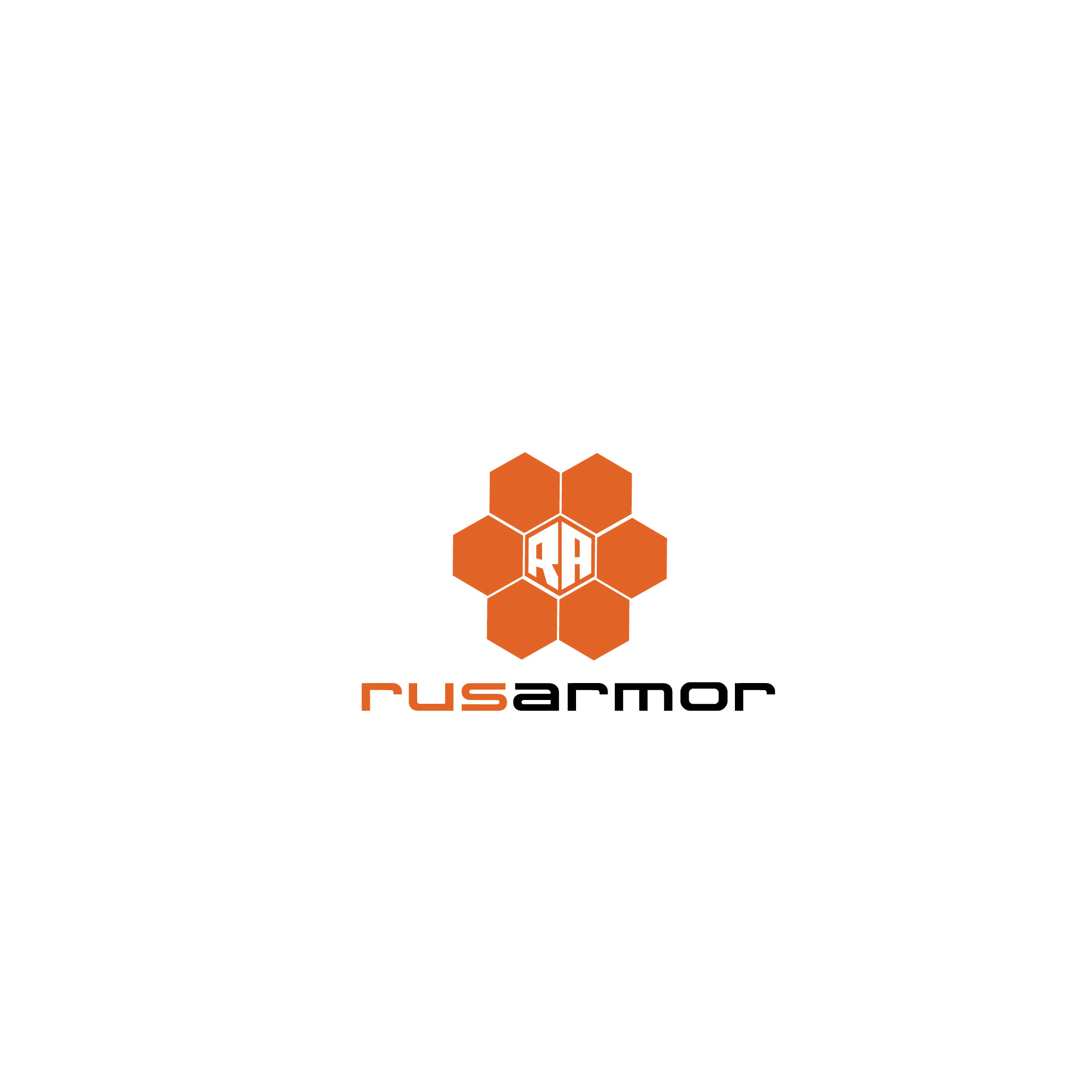Разработка логотипа технологического стартапа РУСАРМОР фото f_4755a0aede7a5a7b.jpg