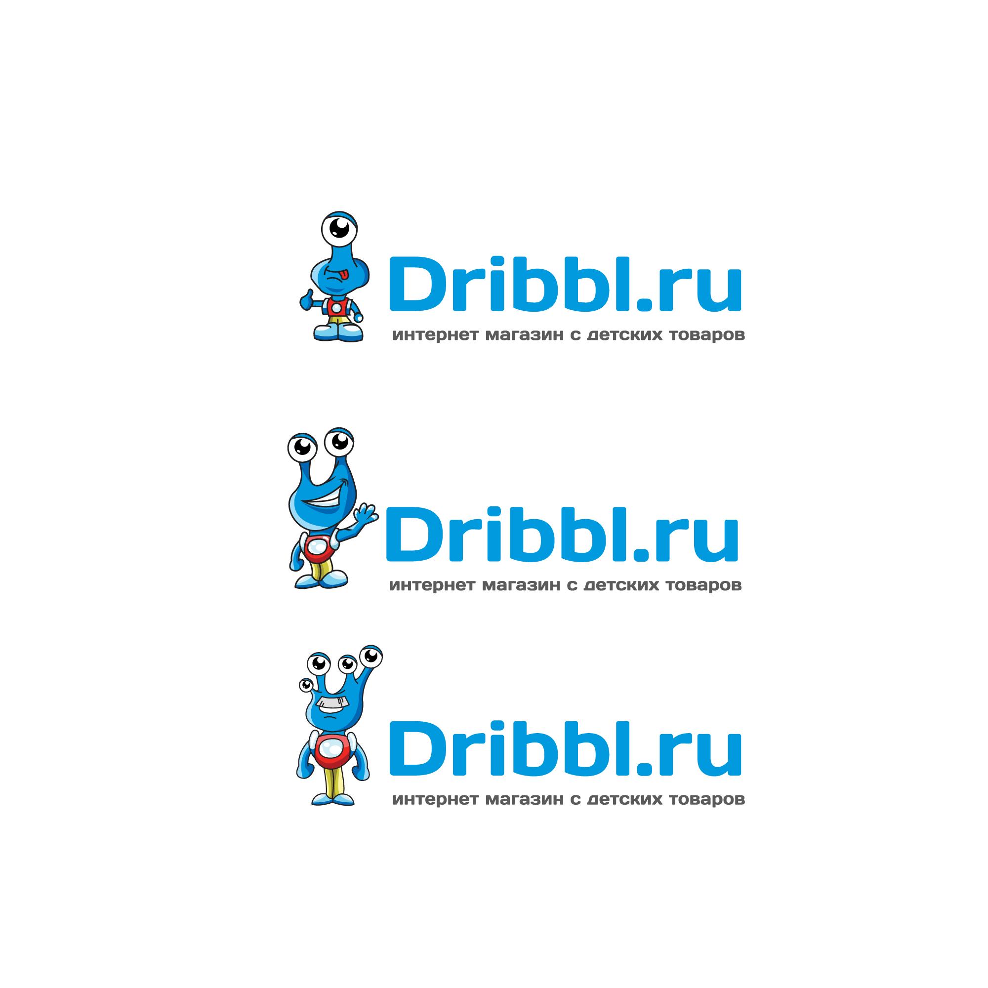 Разработка логотипа для сайта Dribbl.ru фото f_5035a9d499ce83e5.jpg