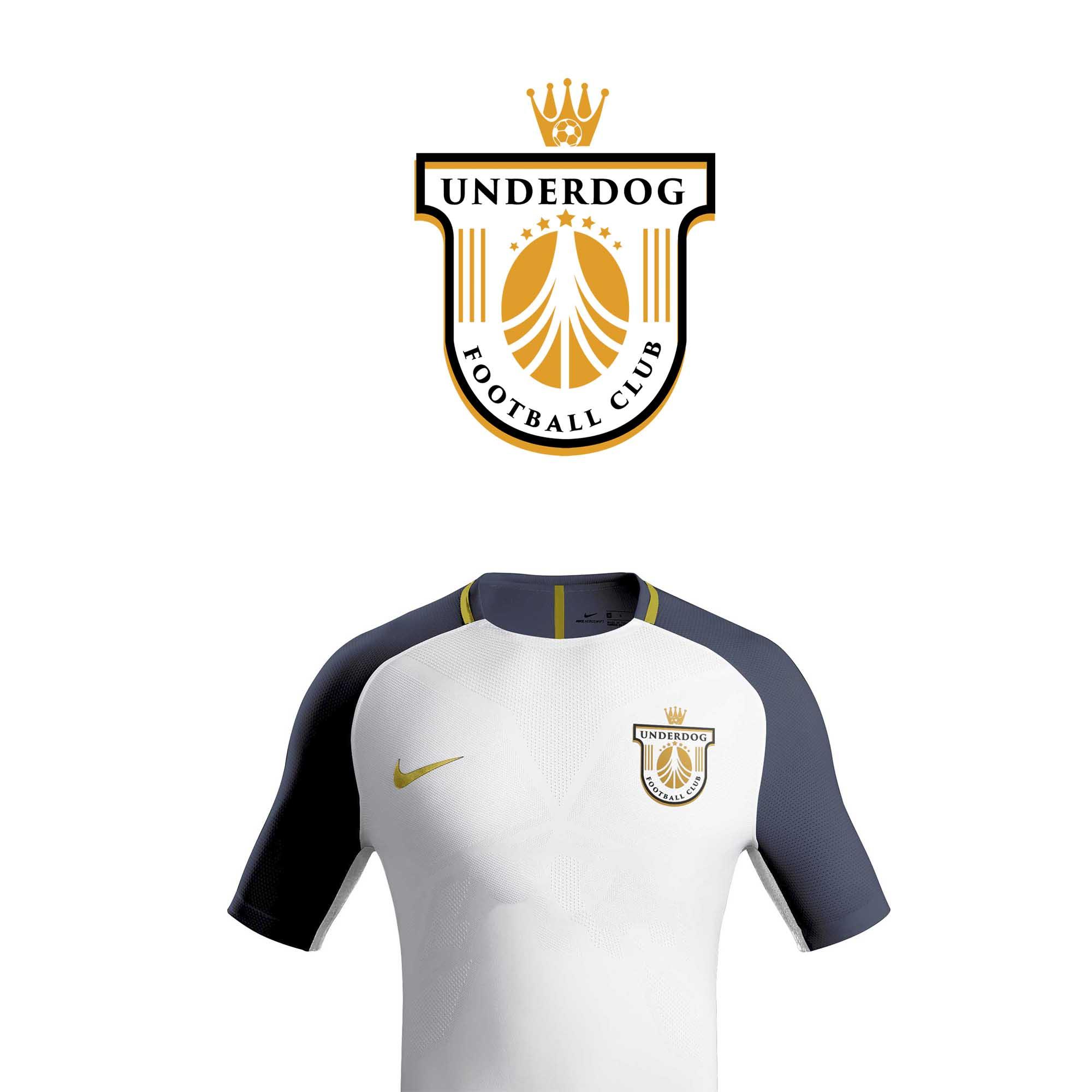 Футбольный клуб UNDERDOG - разработать фирстиль и бренд-бук фото f_5245cb47399640e6.jpg