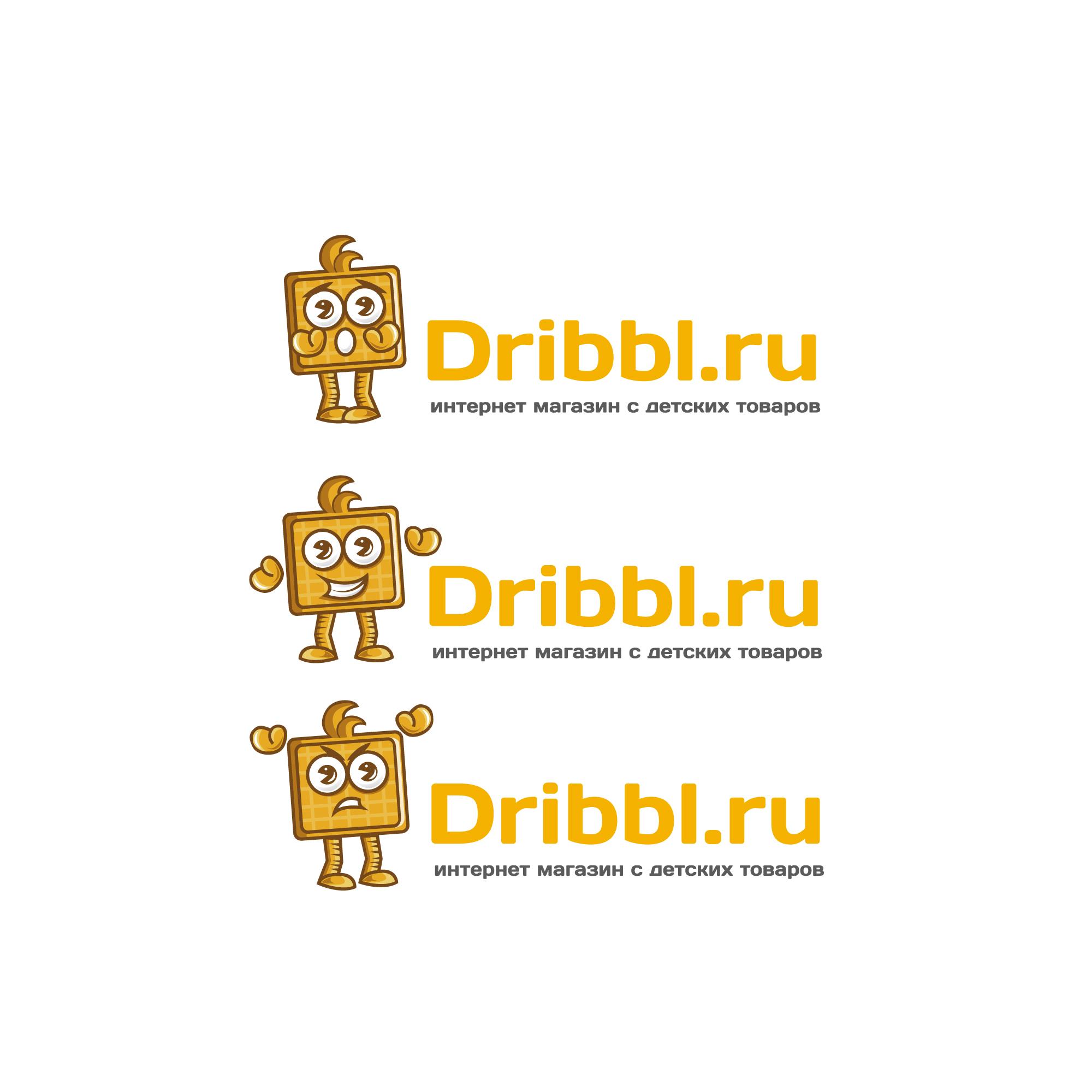 Разработка логотипа для сайта Dribbl.ru фото f_5295a9d4993d0c0c.jpg