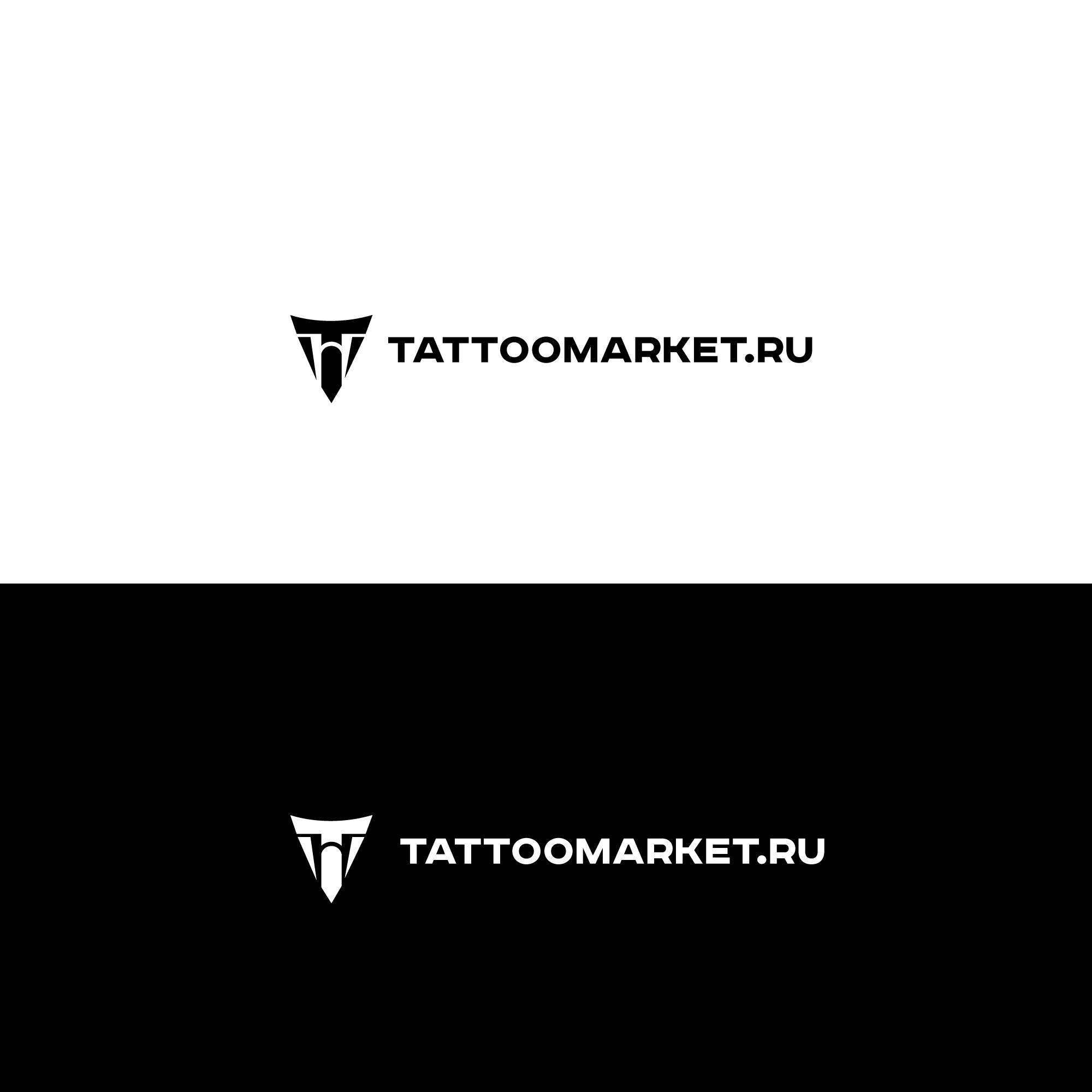 Редизайн логотипа магазина тату оборудования TattooMarket.ru фото f_6775c4022ed3cbfe.jpg