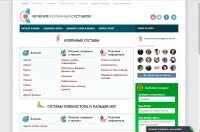 Сайт по лечению суставов (адаптивная верстка)