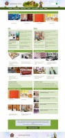 Строительного портала (верстка, дизайн и программирование)