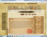 Изменение дизайна на мультиязычном сайте ANDIN ARMENIAN JOURNEY CHRONICLES