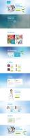 Верстка и частичный дизайн одностраничника с эффектами + посадка на движок wordpress