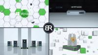 3Д презентация системы видеонаблюдения Линия