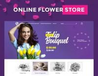 Адаптивный интернет-магазин цветов США.