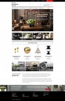 Дизайн интернет-магазин мебели и декора.