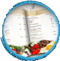 меню ресторана  Place