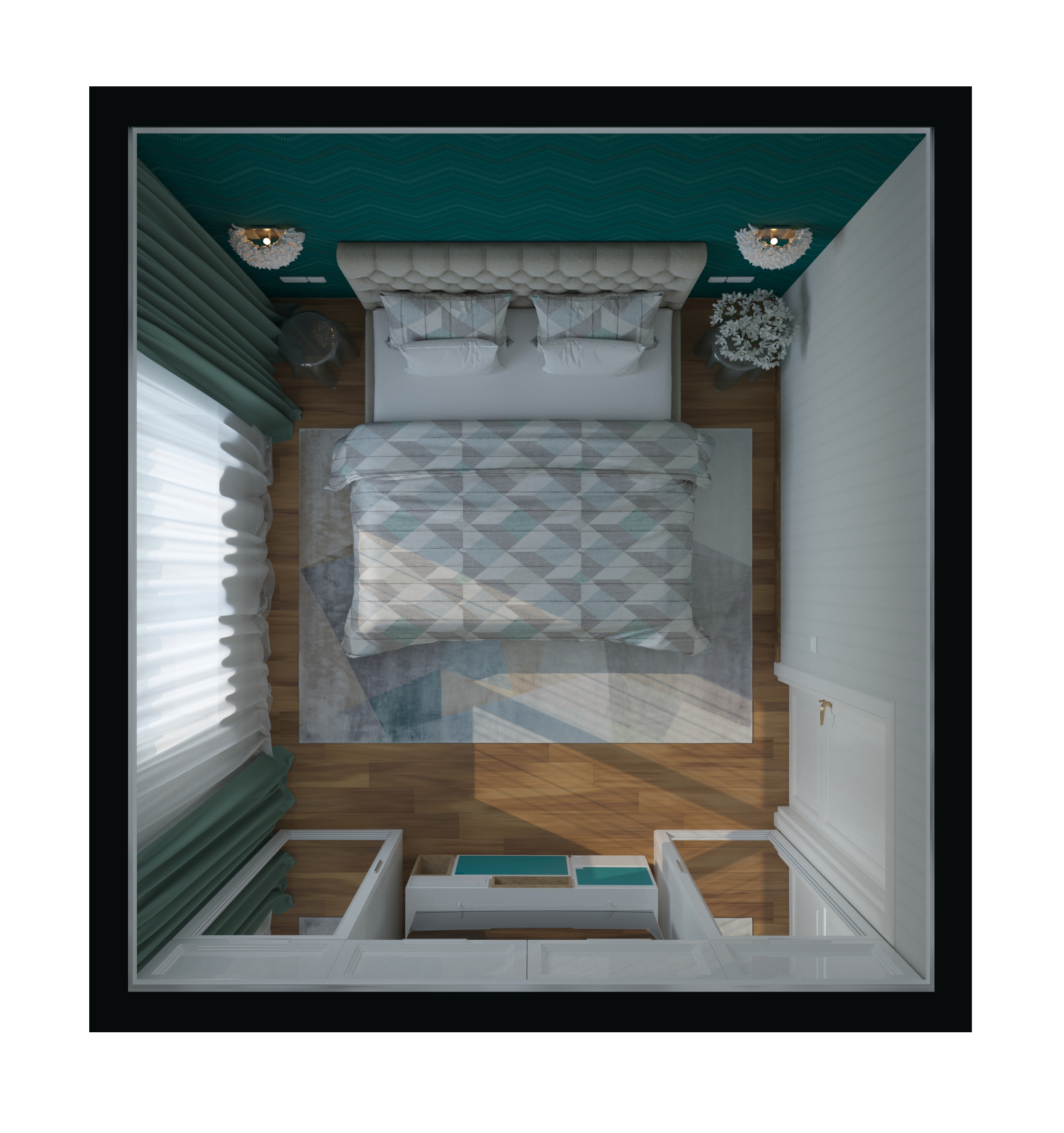 Интерьер – Спальня (Проект И)
