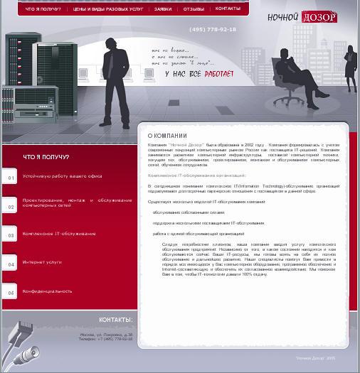 Ночной дозор (CMS Bitrix - старт)