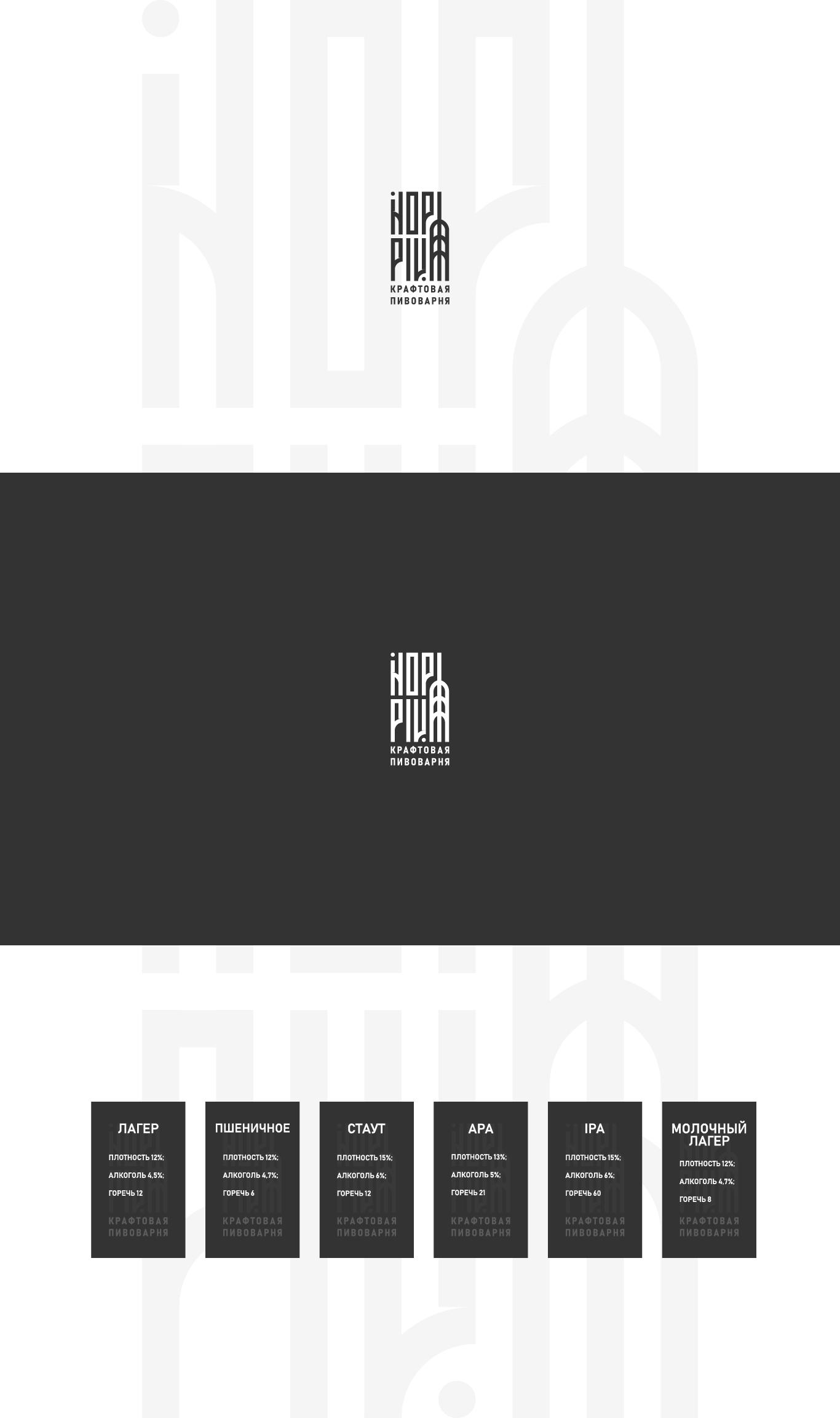 Логотип + Ценники для подмосковной крафтовой пивоварни фото f_9645dc15b015cf85.jpg
