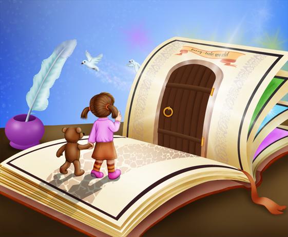 Дверь в сказочный мир