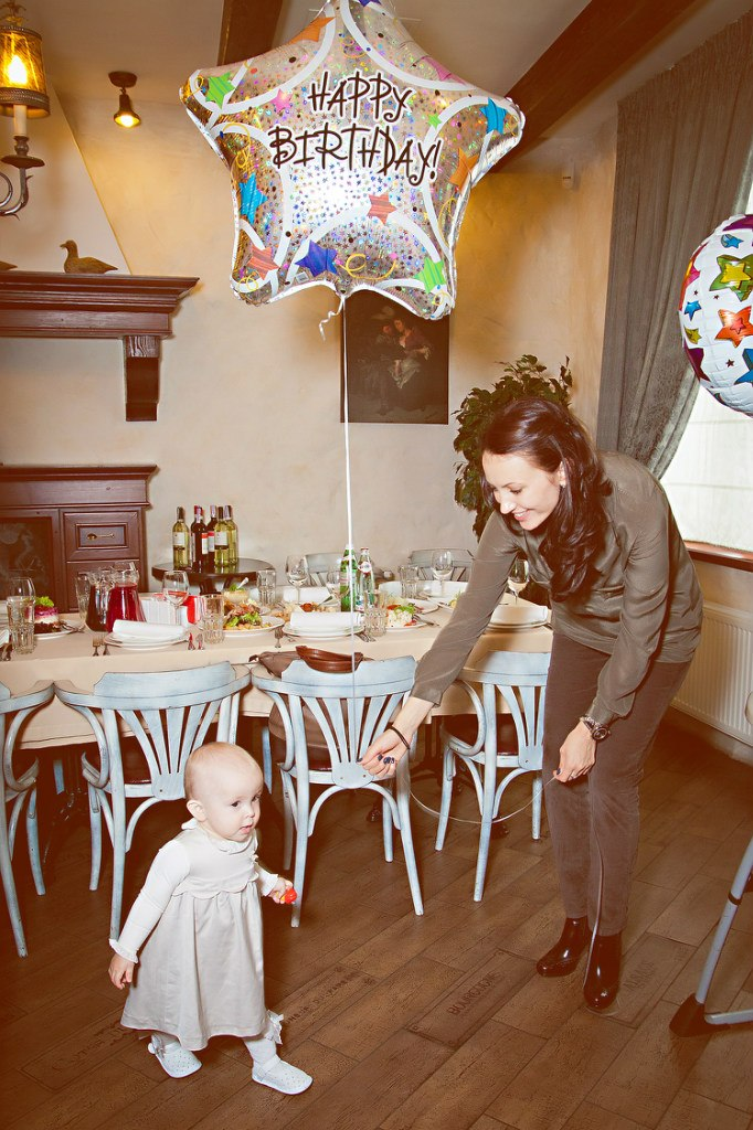 Съемка детских день рождений