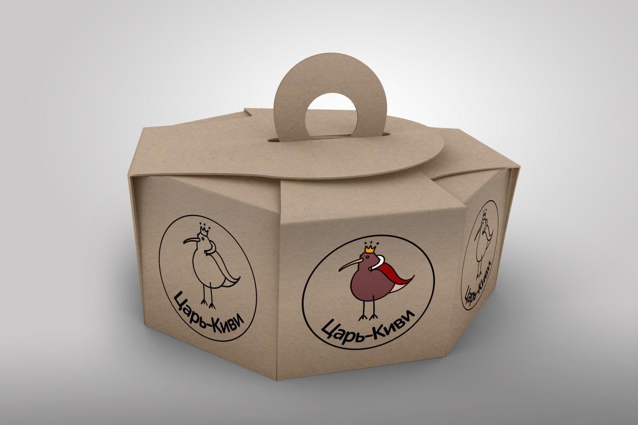 "Доработать дизайн логотипа кафе-кондитерской ""Царь-Киви"" фото f_6165a090faa618f6.jpg"