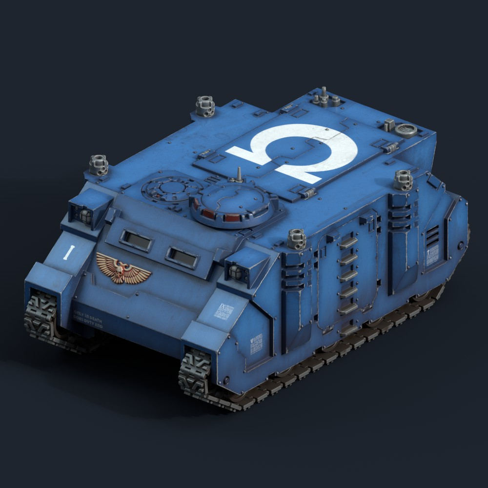 Warhammer 40k Rhino
