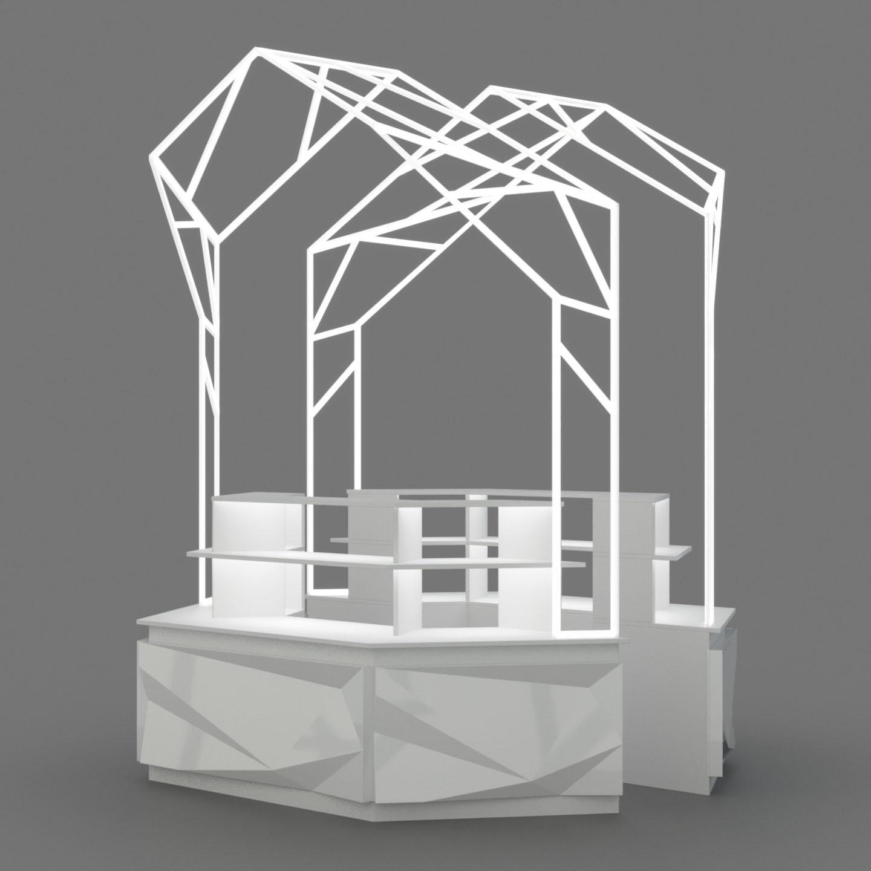 Визуализация модуля по готовому дизайну для проекта ДелаРук