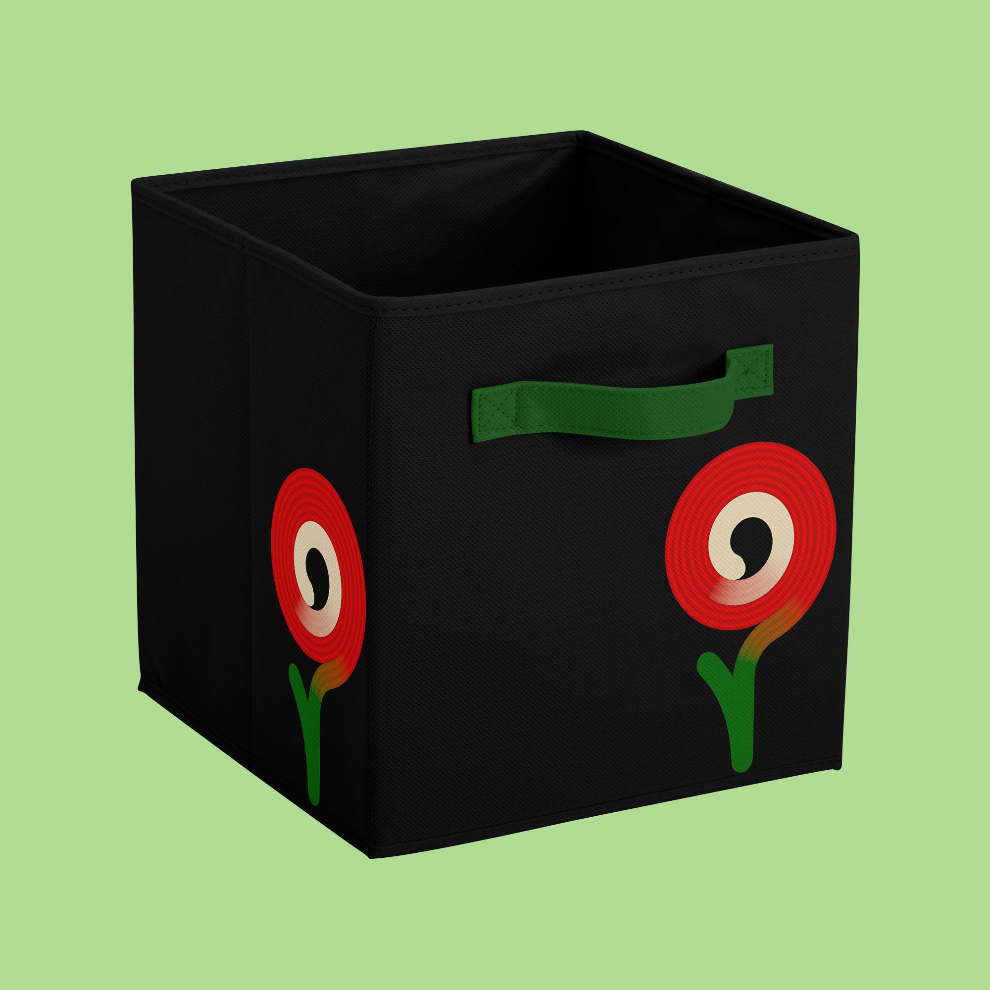Мокап коробки для вещей