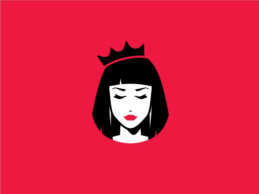 Brunette queen