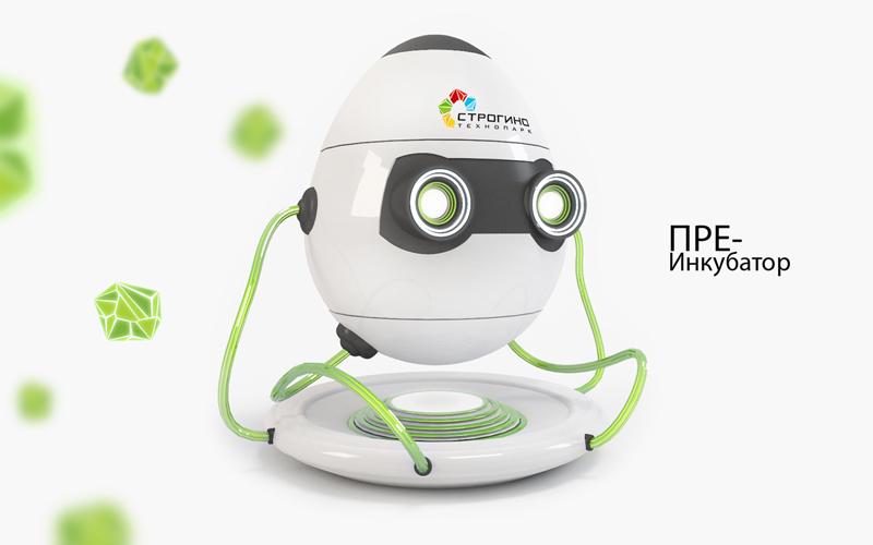 """Робот-персонаж для """"Технопарка Строгино"""" 2"""