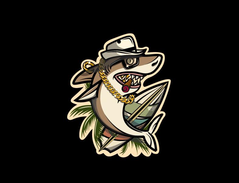Акула [стикер]