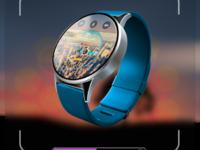 Разработка концепт-арта smart watch