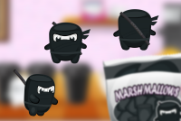 The characters for the game Marshmallow_2_0
