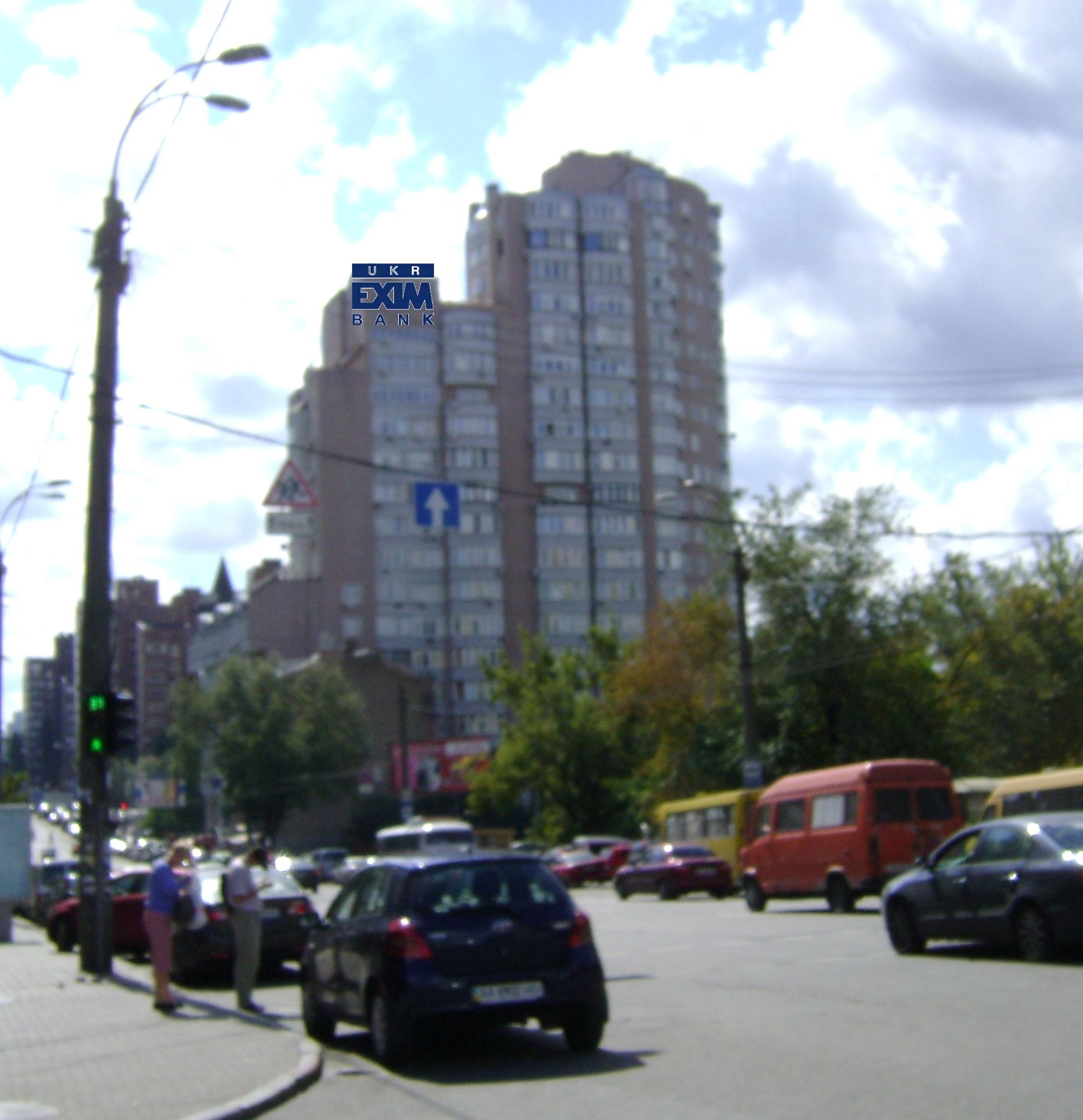 Дизайн накрышной рекламной конструкции для УКРЕКСІМБАНК