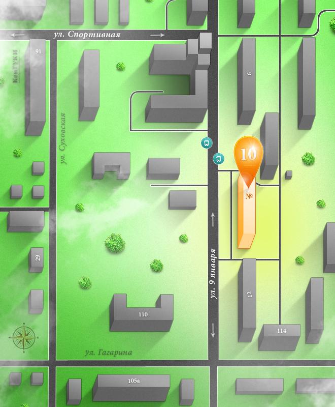 Схема проезда - СанТехРесурс #3