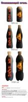"""Концепция """"Освежающий огонь"""" энергетического напитка Drive Me для PepsiCo"""