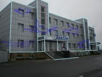 """Дизайн архитектурной светодиодной инсталяции для Отеля """"5 Океан"""" (вариант-11)"""