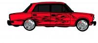 "Дизайн кузовного тюнинга ВАЗ-21013 ""Жигули"" для Ермолина Ю.Н. (вариант-15)"