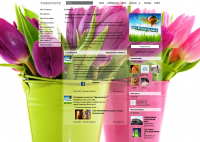 """Дизайн страницы Вконтакте для сайта РА """"Світ реклами"""""""