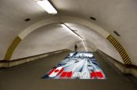 Дизайн рекламной напольной 3D графики для Coliseum, STUDENTLAND TM (вид-2)