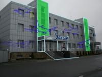 """Дизайн архитектурной светодиодной инсталяции для Отеля """"5 Океан"""" (вариант-17)"""