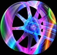 Тюнинг - аэрография автомобильных дисков KONIG NEON stile