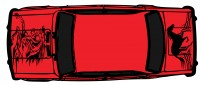 "Дизайн кузовного тюнинга ВАЗ-21013 ""Жигули"" для Ермолина Ю.Н. (вариант-13)"