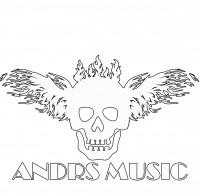 Дизайн логотипа для ANDRS MUSIC - White Fire Stile