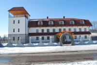 """Дизайн вывески над входом для Готеля """"Стара вежа"""" (вариант-2)"""