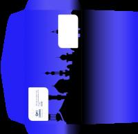"""Дизайн евро-конверта для Турагентства """"Космос Тревел Стар"""" (вариант-6)"""