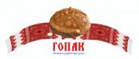 Дизайн логотипа для Ресторана ГОПАК (вариант-3)