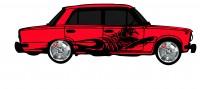 "Дизайн кузовного тюнинга ВАЗ-21013 ""Жигули"" для Ермолина Ю.Н. (вариант-3)"