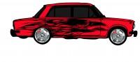 "Дизайн кузовного тюнинга ВАЗ-21013 ""Жигули"" для Ермолина Ю.Н. (вариант-9)"