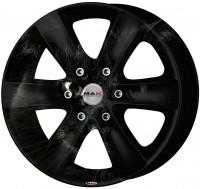 Тюнинг - аэрография автомобильных дисков MAK Black Cat Stile