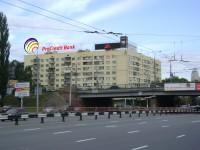 Дизайн накрышной рекламной конструкции для Pro Credit Bank
