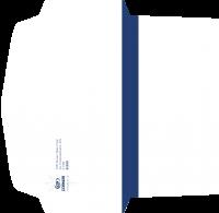 """Дизайн евро-конверта для Турагентства """"Космос Тревел Стар"""" (вариант-1)"""