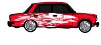 "Дизайн кузовного тюнинга ВАЗ-21013 ""Жигули"" для Ермолина Ю.Н. (вариант-12)"