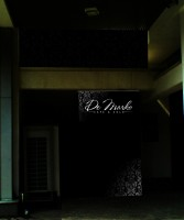 Дизайн брендирования входной группы для Ресторана De Marko (ночь, вариант-1)