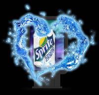 Дизайн ситилайта с экстендером для Sprite (ночь)