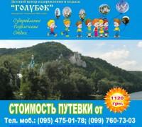 """Дизайн рекламы в газете для ДЦОО """"Голубок"""" (вариант-2)"""